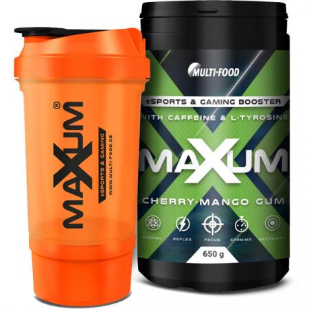 MAXUM eSports & Gaming Booster + MAXUM Shaker