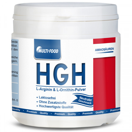 HGH, L-Arginin Base + L-Ornithin